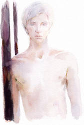 Another male nude experiment by lillithium