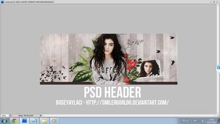 PSD Header by smilergorl00