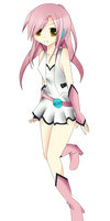 Aika Heion Alternate design by KamiKamirei