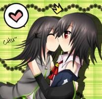 Surprise Kissu by KamiKamirei