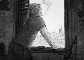 Watchtower by ClumsyBlunder