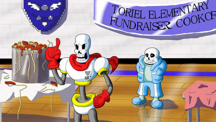 Sans and Papyrus: Helping Out...? by Clovis15