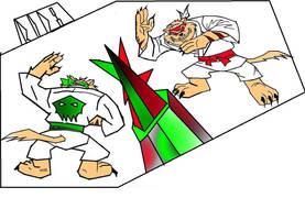 Swatlee Enter The Dragon by ganeshraja
