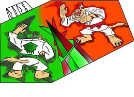 fire at kick war brothers by ganeshraja