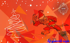 Wishes  happy christmas and new year my friend by ganeshraja