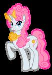Effie Trinket Pony by tehzebra