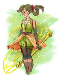 Infinite Catcher Sorceress by Kastia