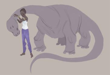 Mokele Mbembe by Kastia