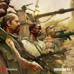 Downfall Enlist by Rael by distritopapillon
