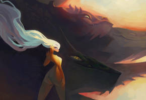 Mother of Dragons by FredWong1997