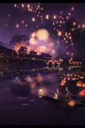 lantern festival . by megatruh