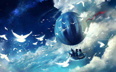 sailing home by megatruh