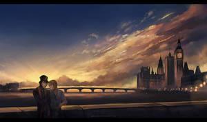 sunset note by megatruh