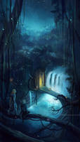 the elvenking's gate . by megatruh