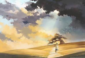 golden fields by megatruh