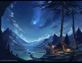 Thorin and the Blue Mountains by megatruh