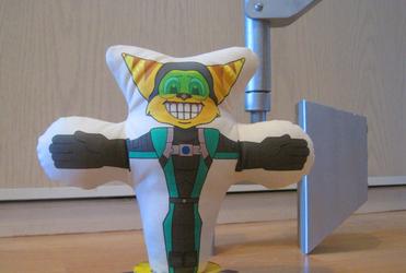 Ratchet and Clank Decoy Glove V2 by Lombax13