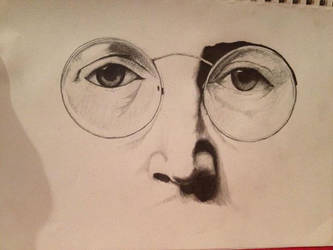 john Lenon by dreamsamongtheclouds