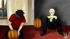 Pumpkins by asgaardian