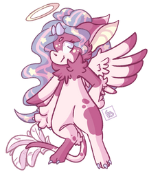 Pillow Feathers by Emily-Lavender