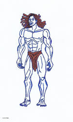 Tarzan by 4M1R