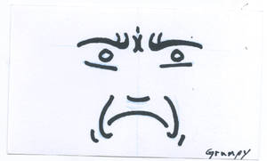 CardSmilies Grumpy by mighterbump