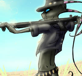 Child Soldier : : . by elcabal