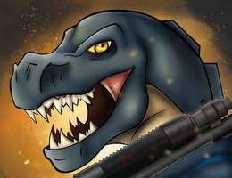 Dino Icon by VenomEXsoldier