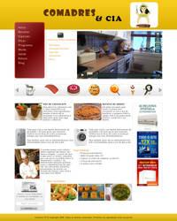 Website - Comadres e Cia by Natyvw