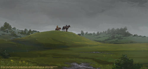 Burial Mound by GreekCeltic