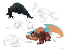 Big dumb animal by GreekCeltic