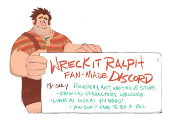 Wreck It Ralph Fan Discord by GreekCeltic