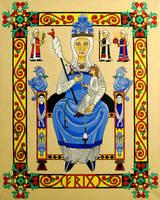 Frigga in Romanesque Style by Thorskegga