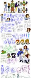 Balancing Act 2012-2017 Doodle Dump by Kirbopher15