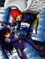 Angel vs Devil by Kirbopher15