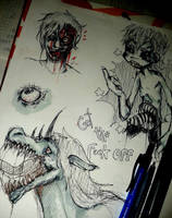 moooooore sketches by KeitoHeavenn