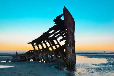 Enchanting Limbo - Peter Iredale Shipwreck by BuuckPhotography