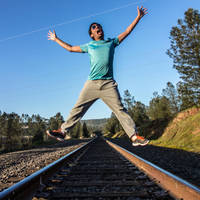 Day 614 [2-23-15]: Zap Track by BuuckPhotography