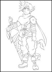 [fanart] Cloud Strife by magicpotion