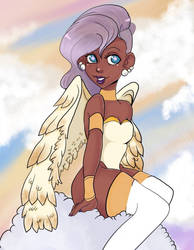 Angel  by magicpotion