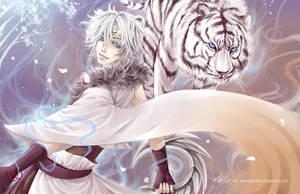 :White Tiger: by Cindiq