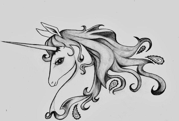 last unicorn tattoo designiwasbornadragon on deviantart
