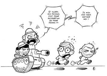A la guerre comme a la guerre by Flibusk