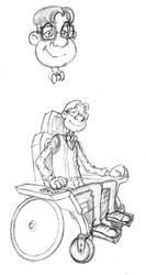 Inventifs Steven V1 fauteuil by Flibusk