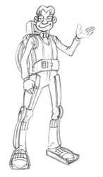 Inventifs Steven V1 exosquelette by Flibusk