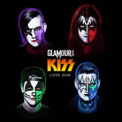 Glamour of the Kill - Love Gun cover artwork by kitster29