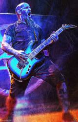 Scott Ian -  Anthrax by kitster29