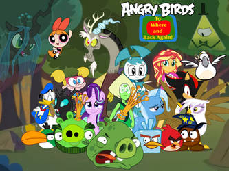 Angry Birds: To Where and Back Again by BrunoMilan13