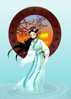 Kuan Yin by Fenryu