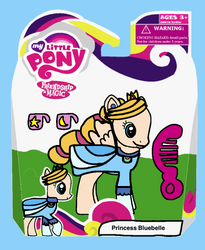 MLP - Princess Bluebelle ( Powerpuff Girls ) 2016 by drfoxRANGE9205